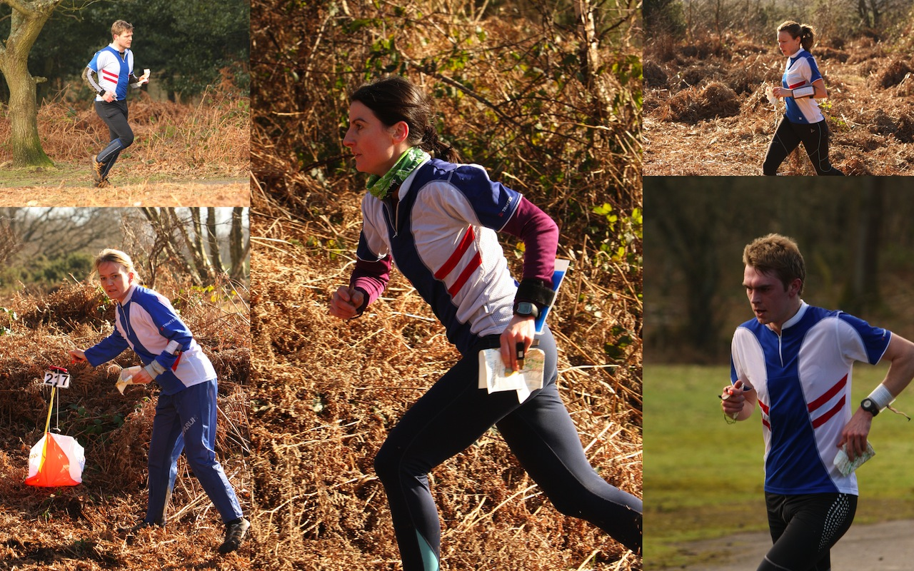 SLOW runners compete on Headley Heath