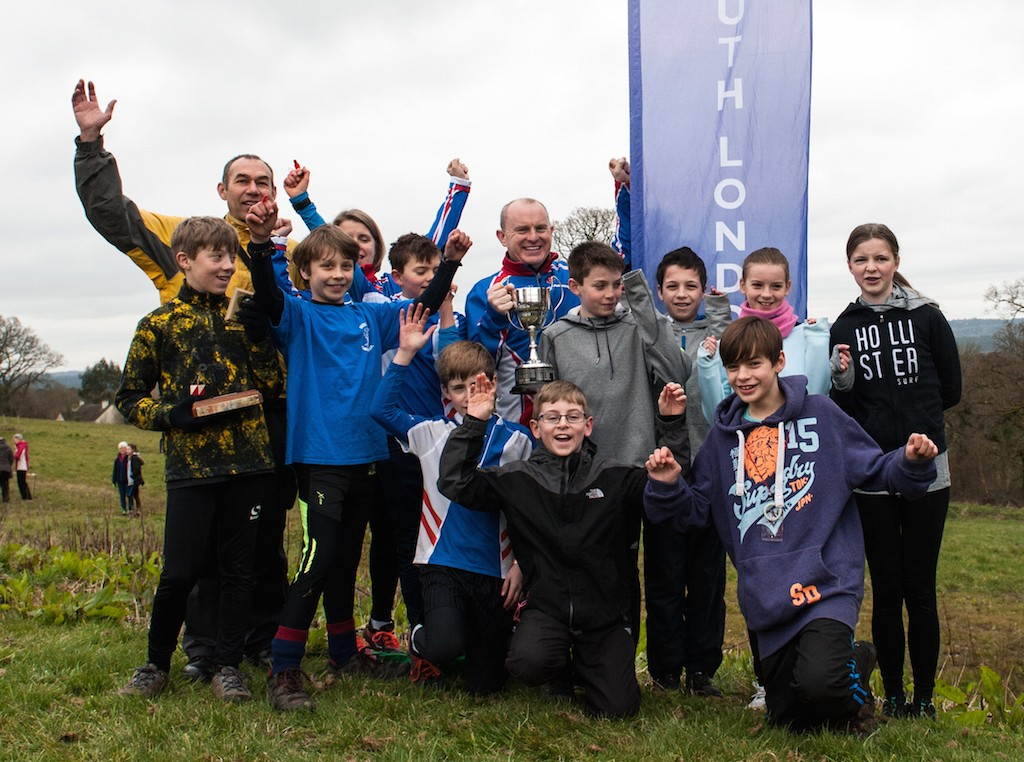 Esher Scouts celebrating their win in the Southern Navigators Saturday Series 2015-16.