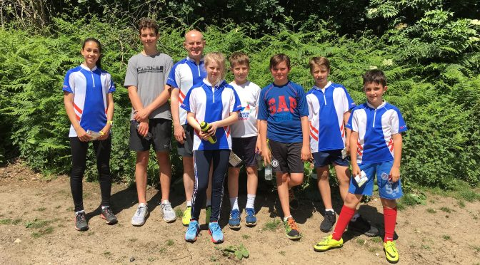 SLOW Juniors enjoy half term training on Esher Common